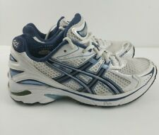 Asics GT-2140 Running Cross Training Shoes White Blue Women's Sz 6