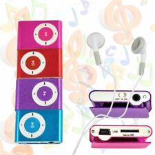 Bis 32GB Metall Mp3 Player USB Mini Clip Musik Metall Micro SD Zubehörpaket