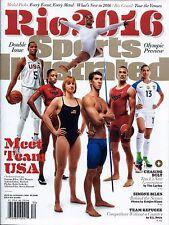 New Sports Illustrated 2016 Rio Team USA Simone Biles Alex Morgan Phelps Ledecky