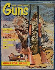 Magazine *GUNS* March, 1966 Favorite American Hunting RIFLES, MOSSBERG Model 800