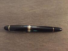 Montblanc Füller, perfekter Zustand, breite Spitze 149 OBB, Zigarre