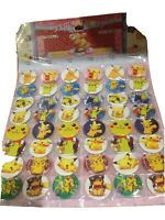 10 x POKEMON  pin badges  Party Bag Fillers Birthday party favours, games