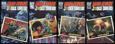 Mars Attacks Judge Dredd Comic Subscription Variant Cover set 1-2-3-4 Lot IDW