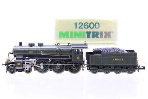 N Minitrix 12600 K.Bay.Sts.B. 3303 S 3/5 Schlepptender Dampflok analog +OVP/J13