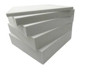 High Density White Foam for replacement of sofa seat, chair, bed