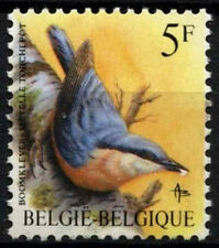 Belgium 1985-90 SG#2849, 5f Bird Definitive MNH #D48422