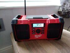Milwaukee M18JSR-0 Jobsite AM/FM Radio