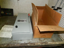 General Electric GE CR308C1822PADSDB Size 0 combination starter 250volt 30amp
