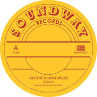 "George & Glenn Miller : Easing VINYL 12"" Single (2019) ***NEW*** Amazing Value"