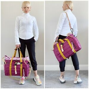 NWT Lululemon Roksanda Face Forward Duffel Bag MARV/CDYP