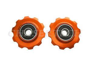 BG/_ 2Pcs Road Bike Cycling Bicycle Rear Derailleur Jockey Wheel Bolt Screw Strik