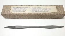 """NEW - NICHOLSON (K&F) 7"""" TAPERED END - DOUBLE ENDED - AUGER BIT FILE USA MADE 48"""