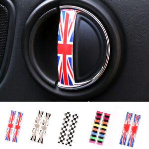 2 x Car Front Door Handle Decoration Sticker for MINI Cooper F54 F55 F56 F57 F60