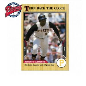 Roberto Clemente - 2021 MLB TOPPS NOW Turn Back The Clock - Card 116 Presale