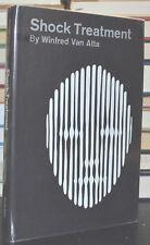 1961 SHOCK TREATMENT Winfred Van Atta Mental Hospital Murder Fiction hc/dj