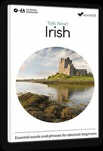 Eurotalk Talk Now Irish for Beginners - Download option and CD ROM