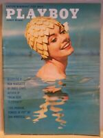 Playboy  August 1962* Good Condition *Free Shipping USA