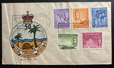 1953 Victoria Seychelles First Day Cover FDC Coronation Issue