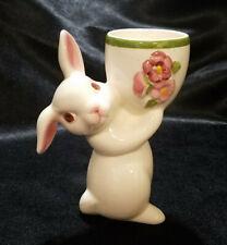 Vintage Avon Easter Sunny Bunny Candle Holder (Circa 1981)