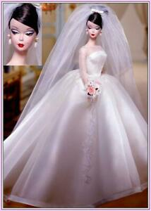 Maria Therese™ Wedding Bride Silkstone Barbie 2001 Limited Edition Robert Best