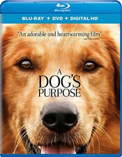 A DOG'S PURPOSE - [BLU-RAY/DVD COMBO PACK] - NEW UNOPENED - DENNIS QUAID