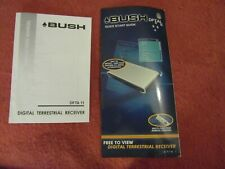 Manual for Bush DFTA1 DFTA 1 freeview TV set top box