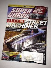 Super Chevy Magazine T-Top Camaro '71 Chevelle November 2014 030717NONRH