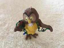 Vintage Hallmark Disney Winnie The Pooh Owl in Christmas Lights Ornament