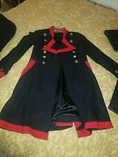Wheels and Dollbaby 2 PC Pirate Military Sailor coat, Athena Marie capri pants