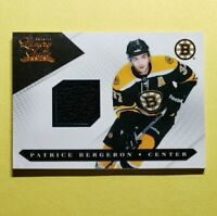 2010-11 Luxury Suite, Patrick Bergeron, Bruins Game Used Jersey, #d 339/599