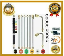 120 Pressure Washer Extension Wand Power Washer Lance Spray 4000 Psi Car Wash