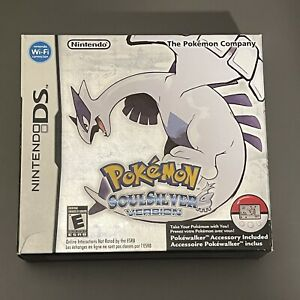 Pokemon: SoulSilver Soul Silver Version (Nintendo DS)