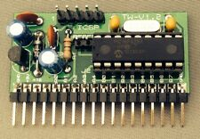 Microchip PIC16F88 Project board PCB READY BUILT
