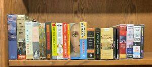 BR Lot of 20 Audiobooks CD Books Fiction Drama History Mystery Suspense Nice!