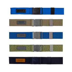 NEW PUMA Golf Ultralite Stretch Adjustable Belt - OSFM - Choose Color