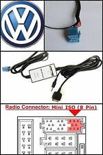 VW iPod iPhone Aux for Select Passat Beetle Jetta Golf GTI Adapter