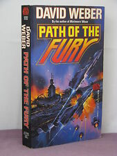 1st, signed by the author, Path of the Fury by David Weber (1992)