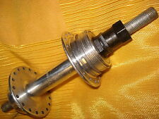 Maillard ATOM screw-on Rear Hub; Solid 166 mm Axle Imperial. 121-126.5mm o.l.d.