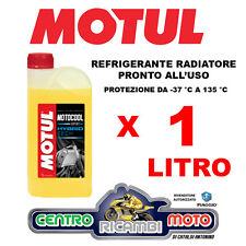 Liquido Radiatore Refrigerante Motul Motocool Expert Hybrid Tech Moto 1 Litro lt