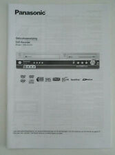 Panasonic Gebruiksaanwijzing DMR-ES35V DVD Recorder Nederlands