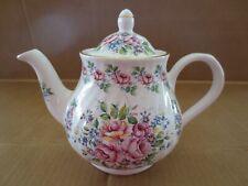 Arthur Wood & Son Staffordshire England Vintage Floral Tea Pot 6660