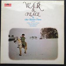 John Scott WAR & PEACE +Other Television Themes soundtrack compil LP '73 Colditz