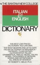 Bantam New College Italian/English Dictionary (Bantam New College Dictionary
