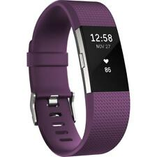 FITBIT CHARGE HR 2 LARGE PLUM