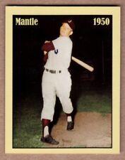 Mickey Mantle, '50 Joplin Miners, minor league shortstop, rare NYC cab card