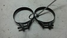 1981 Yamaha XS650 Heritage Special XS 650 YM224B. Engine intake carb boot clamps