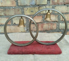 on Stand Vintage Soviet Russian Ussr Wedding Rings & Bells Desk Table Statuette