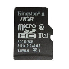 8GB Kingston Micro SD SDHC Class 10 TF C10 Flash Memory Card New For Cellphones