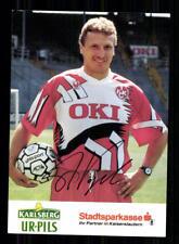 1995 Signiert 1994 Autogrammkarte Thomas Vogel Sc Freiburg Org