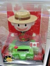 Solar Powered Snowcap LARGE RCMP Bobble Head Dancing Toy